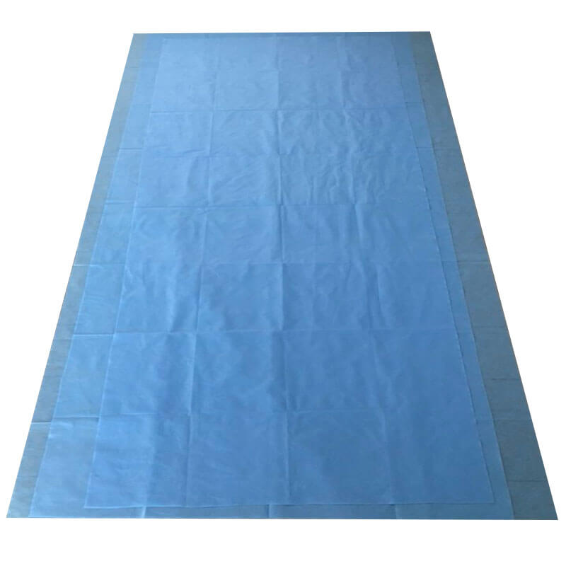 medical bed sheets with ce certificate for health care