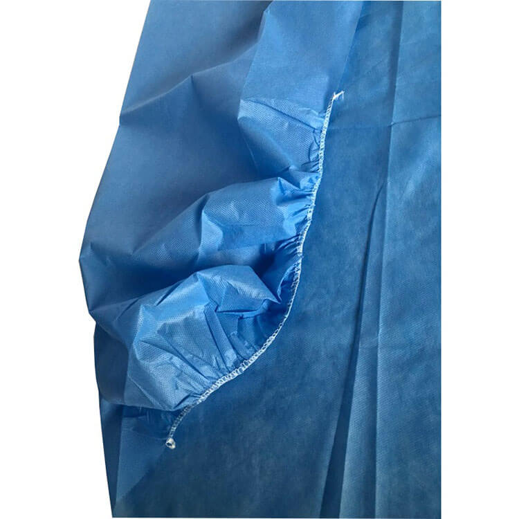 hydrophilic nonwoven bed sheet for medical use