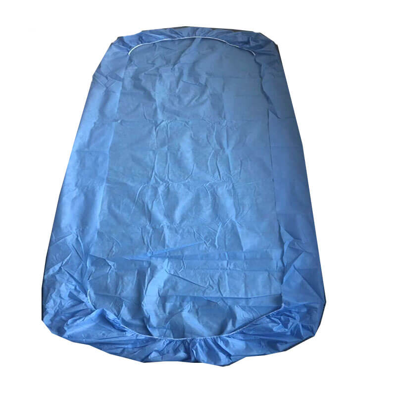 Hydrophilic PP + PE Waterproof Medical Bed Cover
