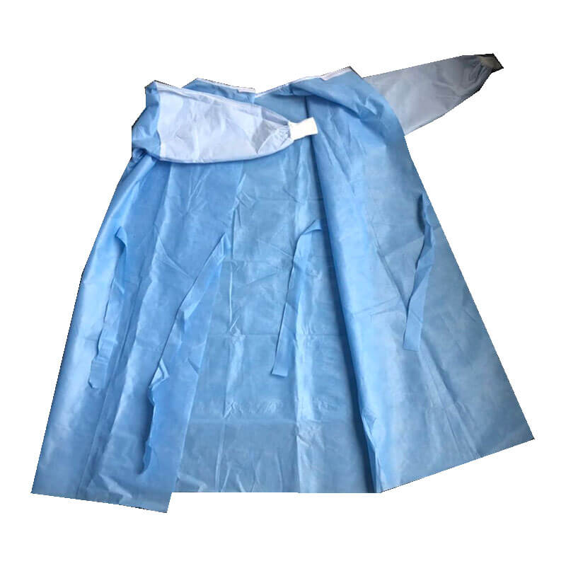 hospital reinforced gown for medical worker wear