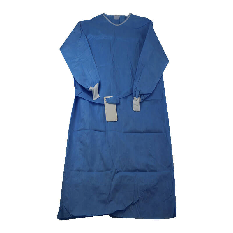 disposable reinforced gown for hospital operation